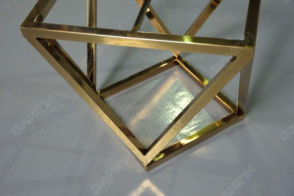 Chân bàn trà, chân tab inox mạ vàng tại hà nội